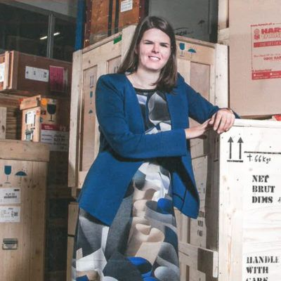Isabelle Harsch pose pour le PME magazine
