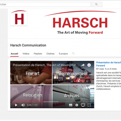 Chaîne youtube de Harsch