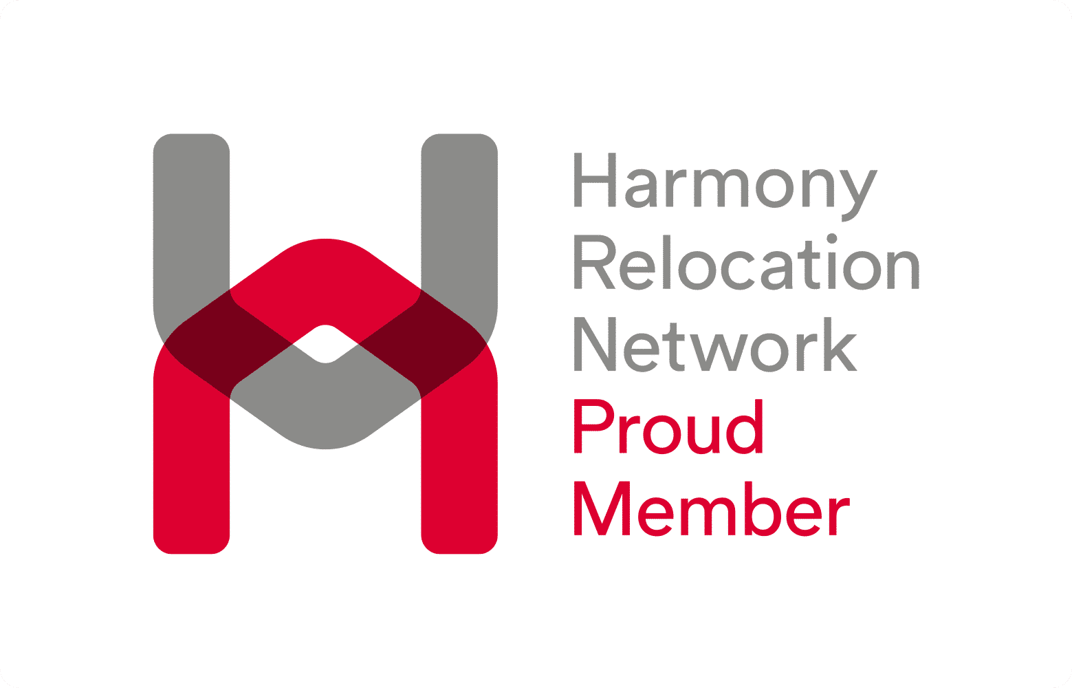 Harmony relocation proud member logo